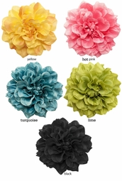 "4"" Beautiful Flower Hair Clip"