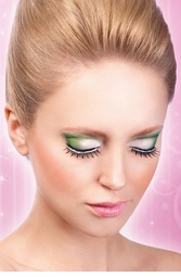 False Eyelashes -Jeweled Wispy Lashes