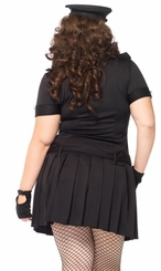 Plus Size 4-Piece Arresting Police Office Costume