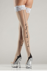 Love Me, Kiss Me Marry Me Stockings