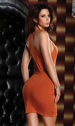 Spice Mini Dress with Racer-Back