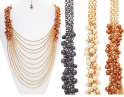 12 Strand Pearl Statement Necklace