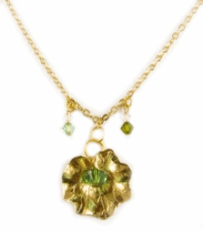 "1"" Lilly Pad Designer Necklace"