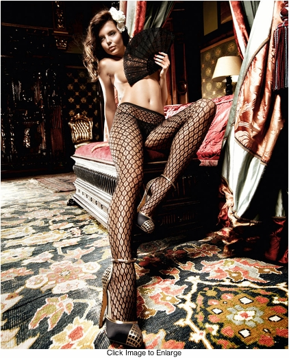 Honeycomb Net Pantyhose