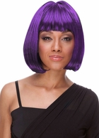 Bob Wig in Shades of Purple