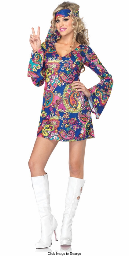 Flower Child Harmony Hippie Costume