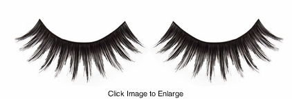 Textured Black False Eyelashes