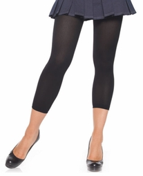 Footless Opaque Tights - Leggings