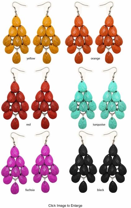 "3.75"" Dangle Earrings"