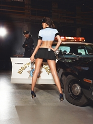 Police Patrol Babe Lingerie Costume