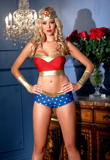 Wonder Woman Lingerie Costume