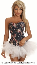 Floral Fantasy Corset and Pettiskirt