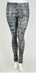 Graffiti Leggings (Plus Size Available)