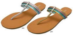 "Flip Flop Sandals ""Snap"" from Michael Antonio"