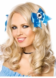 Alice Hair Bows with Card Charm