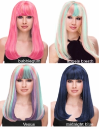 Glamour Kelly Wig in Mixed Colors