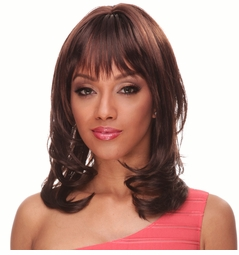 Long Hair Wig with Loose Curls and Bangs