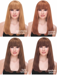 Natural Shades of Luxe Long Kelly Wig