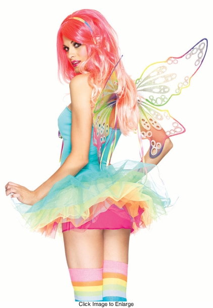 Costumes-Rainbow Fantasy Wings