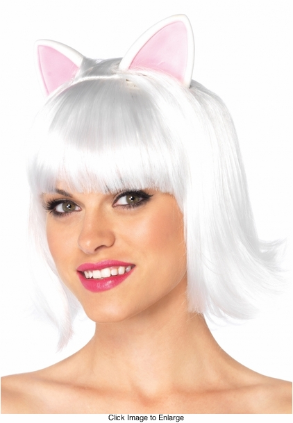 Kitty Kat Wig with Attached Ears