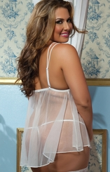 Queen Size Bridal Babydoll for $28.00