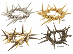 Stretch Spike Bracelet