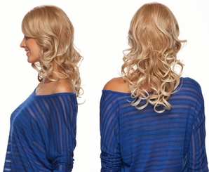 Tousled Curls Lace Front Wig