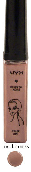 Warm Shades of Killer Lips Lip Gloss by NYX