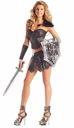 6-Piece Gladiator Queen Costume