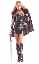 6-Piece Warrior Princess Costume