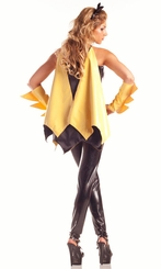 6-Piece Super Hero Girl Costume