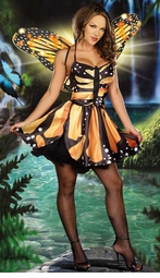 Light Up Monarch Butterfly Costume