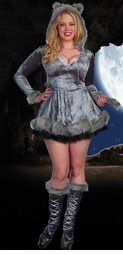 Plus Size 3-Piece Bad Wolf Costume