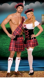 Hot Scottie 5-Piece Costume for Men