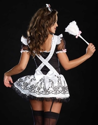 Tres Chic French Maid Costume