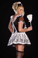 Plus Size Tres Chic French Maid Costume