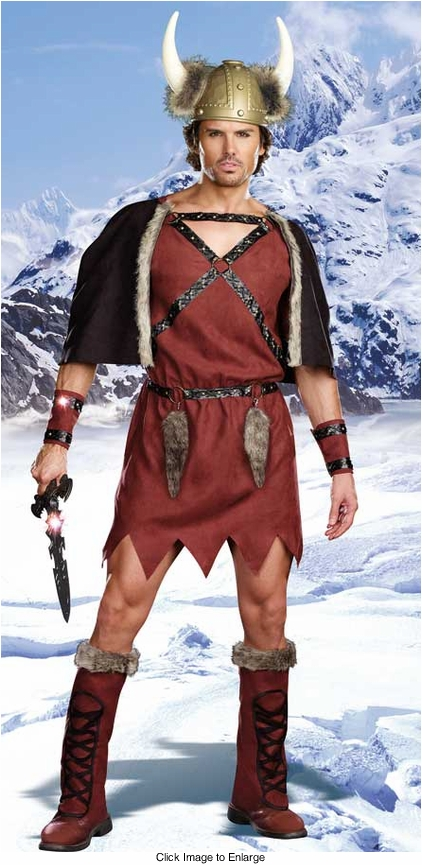 Viking Warrior Costume for Men