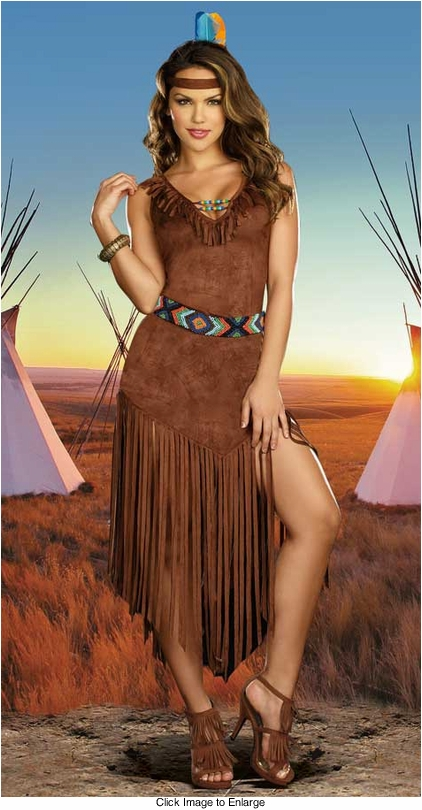 Deluxe Indian Maiden Costume