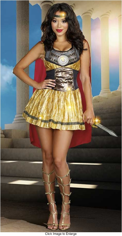 Roman Warrior Beauty Costume