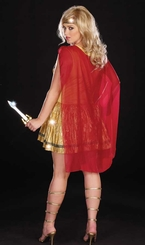 Plus Size Roman Warrior Beauty Costume