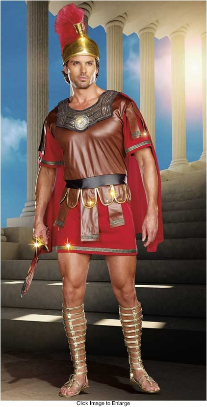 Roman Warrior Legion Costume for Men