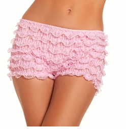Stretch Ruffle Shorts