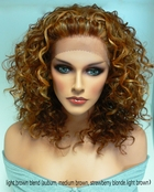 Heat and Styling Friendly Braided Top Wig