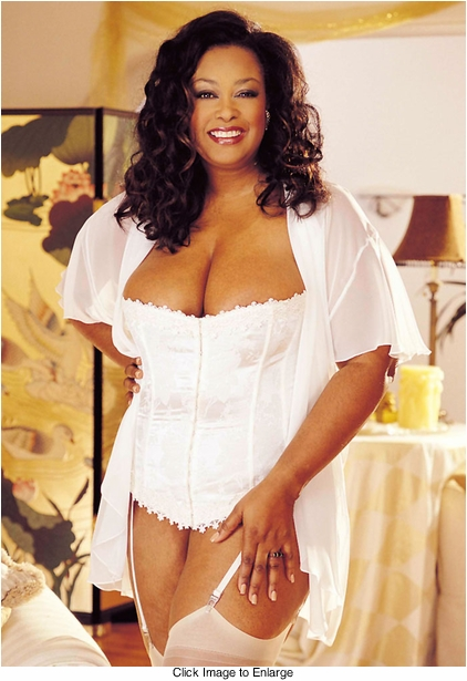 Plus Size White Floral Brocade Strapless Corset