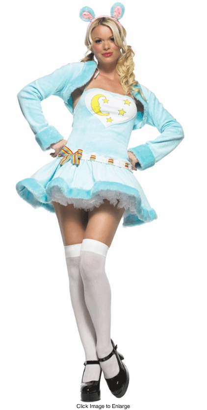 Blue Bedtime Care Bear Costume