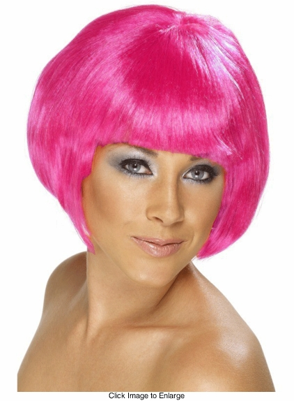 Space Ranger Wig in Fuchsia