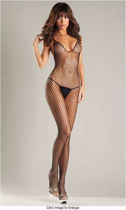 Halter Top Fishnet Bodystocking