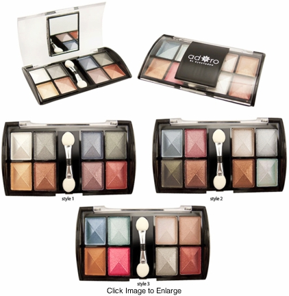 8 Colors of Shimmer Eyeshadow