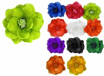 "6"" Large Flower Hair Clip"