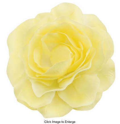 "Large 4.5"" Wide Flower Hair Clip"
